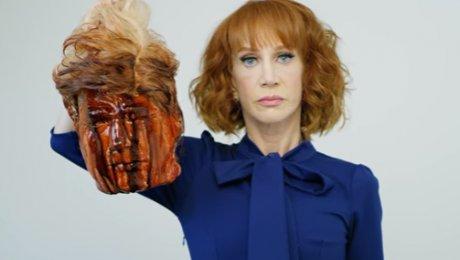 Фотограф и артистка вСША опубликовали снимок с«отрезанной головой» Трампа