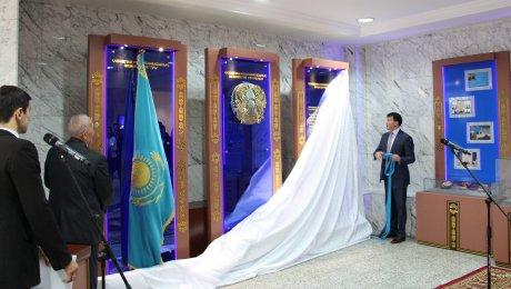 Представлена новая экспозиция государственного герба Казахстана