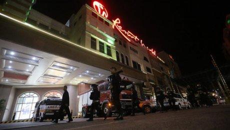 В итоге стрельбы вМаниле погибли 34 человека— Пожарные