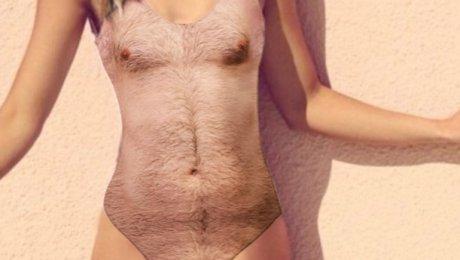 Всети интернет горячо обсуждают купальники спринтом мужской волосатой груди