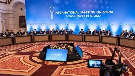 Встреча по Сирии пройдет в Астане 10 июля