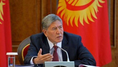 Атамбаев необсуждал сПутиным отправку военных Киргизии вСирию