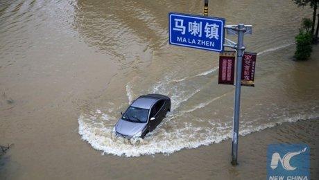 Из-за ливней вКитайской республике погибли 83 человека, эвакуированных— 1,62 млн.