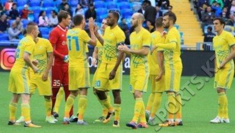 «Астана» прошла в третий раунд Лиги Чемпионов