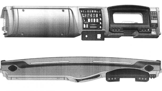 КАМАЗ запатентовал переднюю панель для п ...