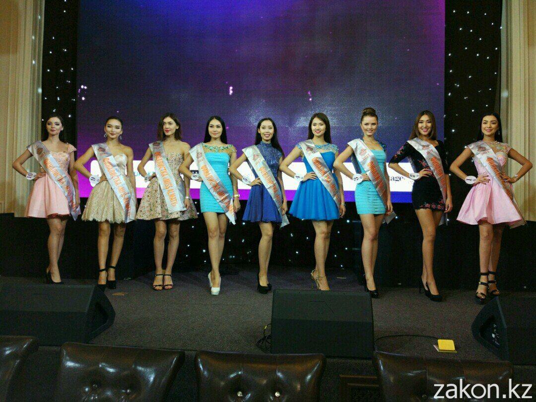 Визитка для участницы конкурса красоты