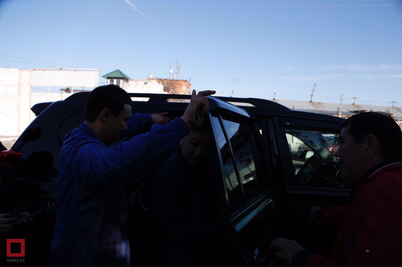 Серик Ахметов вышел насвободу. Его первые слова Избранное