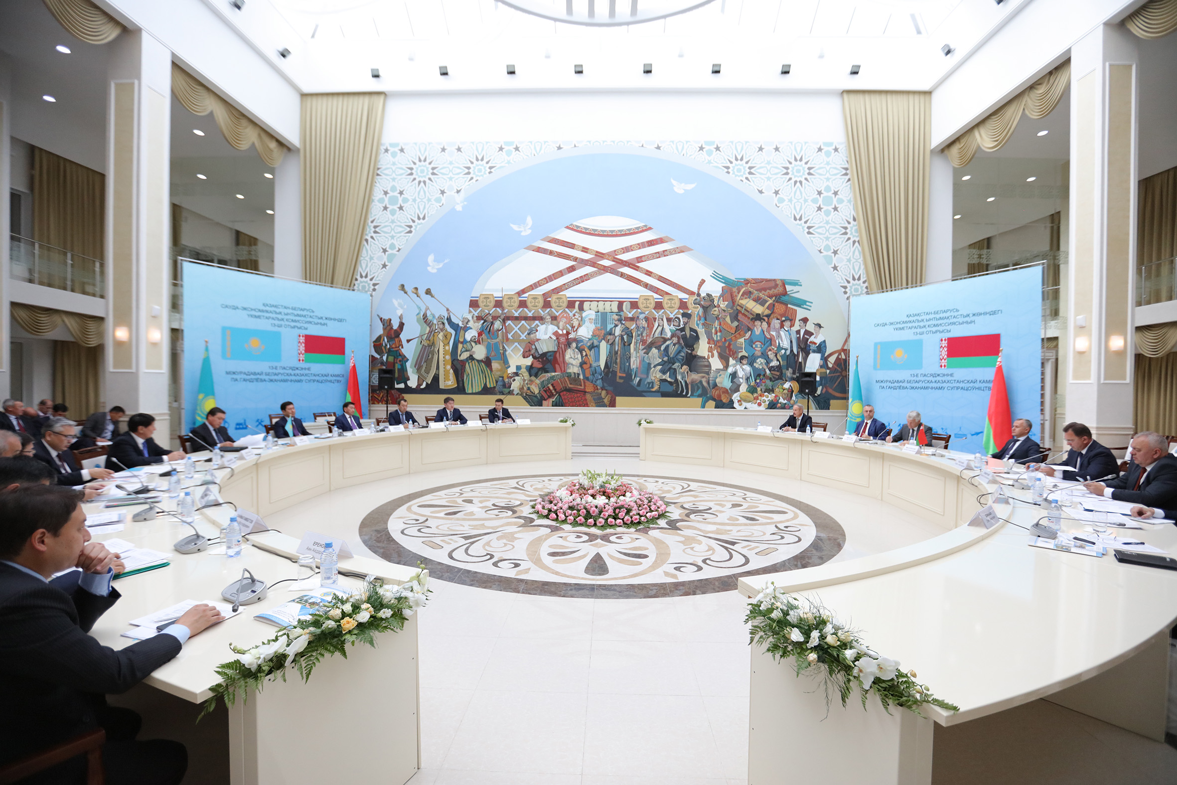 Товарооборот между Казахстаном и Белоруссией возрастет
