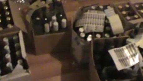 Цех попроизводству фальсифицированного алкоголя ликвидирован вСвердловской области