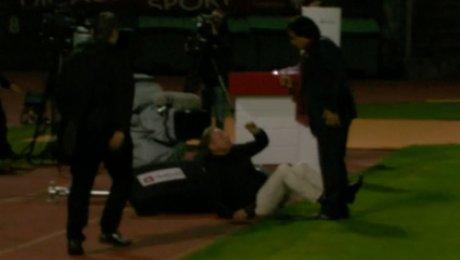 Президент «Сьона» напал накомментатора после матча с«Лугано»