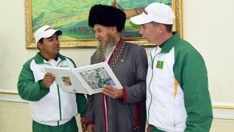 Президент Туркмении выпустил 3-ю книгу загод