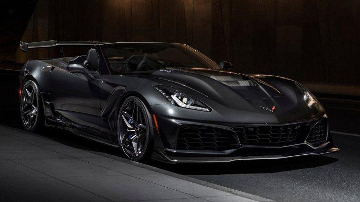 Компания Шевроле показала 755-сильный Corvette ZR1 Convertible