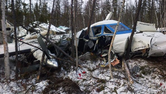 L-410 рухнул вХабаровском крае из-за нехватки топлива