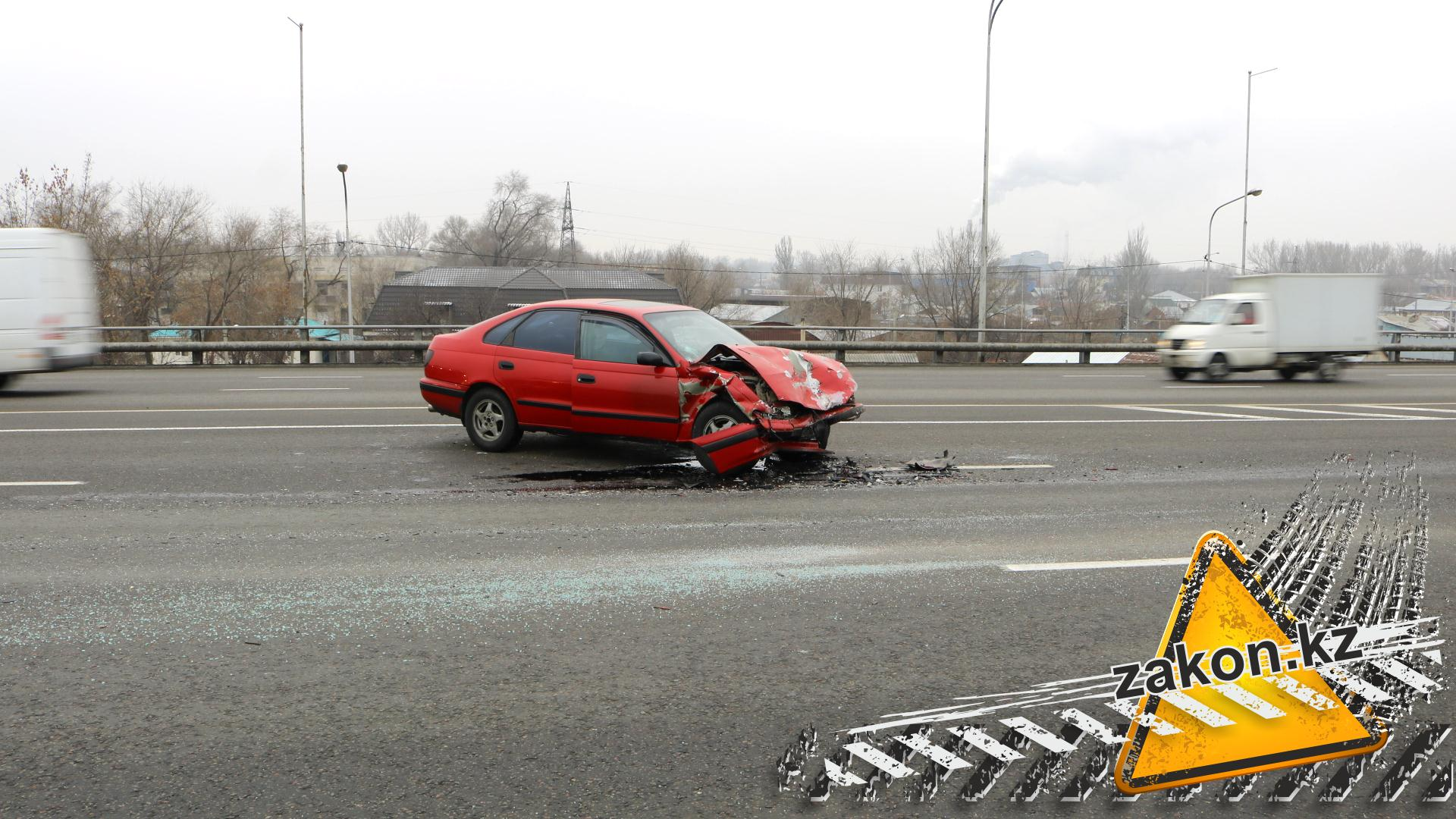 НаРыскулова под колесами Camry умер пешеход