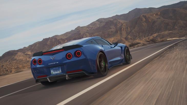Электрокар набазе Corvette оборудовали 800-сильным агрегатом