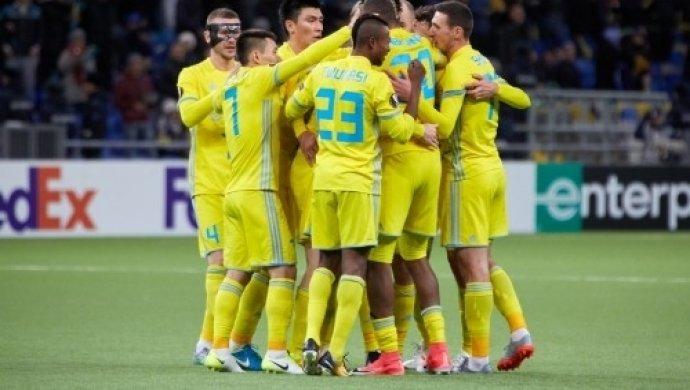 «Астана» впервый раз вистории пробилась вплей-офф Лиги Европы
