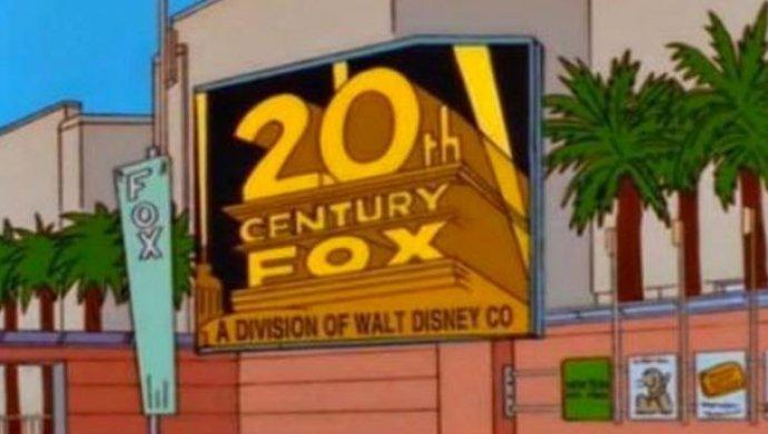 «Симпсоны» предсказали объединение Disney иFox еще 19 лет назад