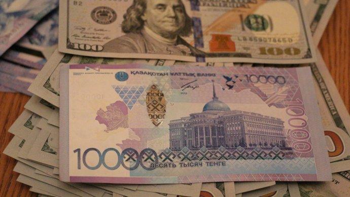 Курс нацвалюты наторгах KASE повысился до329,67 тенге за $1