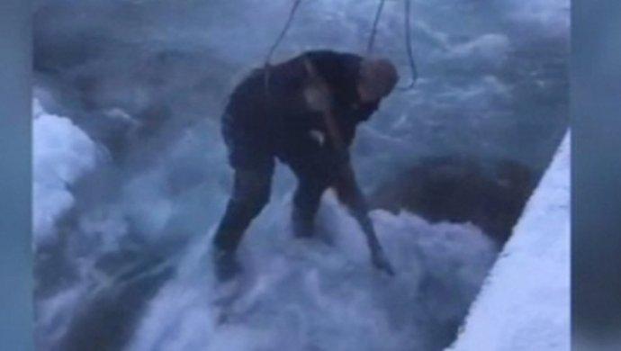 Из-за сильных морозов граждане Талгара остались без воды
