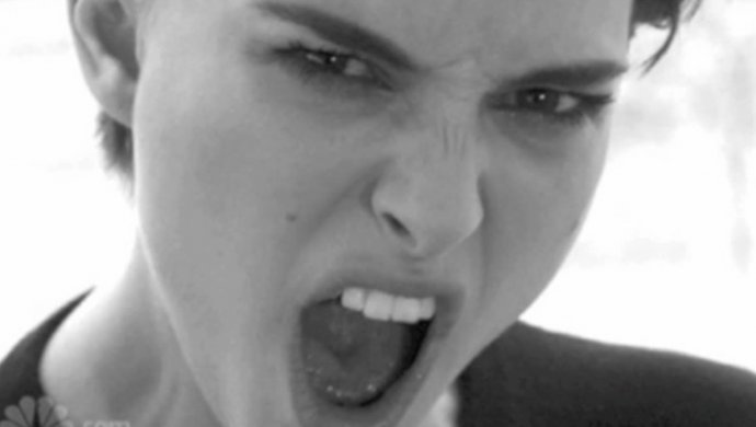 Натали Портман зачитала грязный рэп— Такая дерзкая