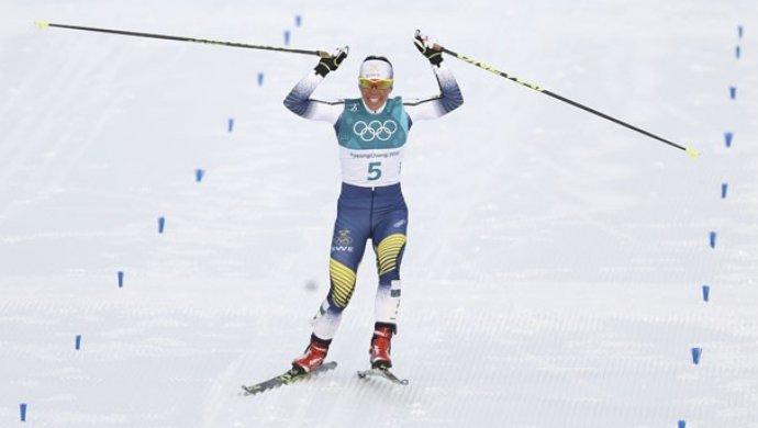 Первое золото Олимпиады-2018 завоевала шведка Калла