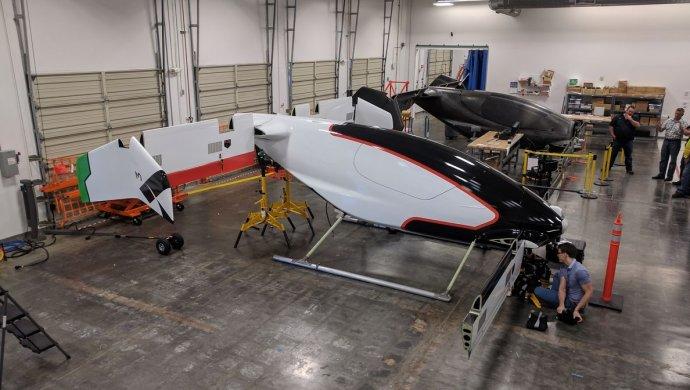 Airbus выложил видео тестирования первого вмире аэротакси Vahana