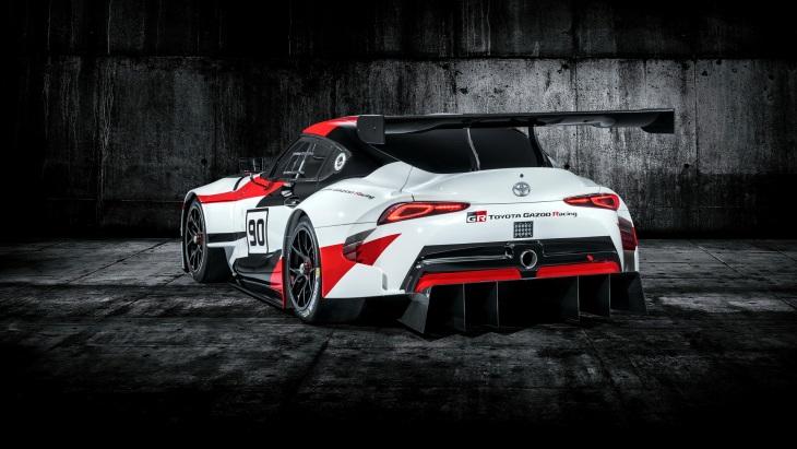 Вновь концептуальный автомобиль — Тоёта Supra