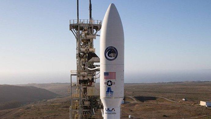 ВСША запустили ракету Atlas Vсметеоспутником