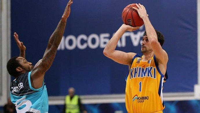 Баскетболисты «Химок» проиграли навыезде «Астане» вматче Единой лиги ВТБ