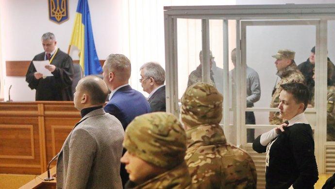 Сегодня суд должен выбрать меру пресечения для Савченко