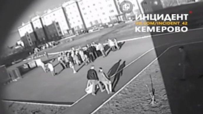 Гражданин Кемерова напал намужчину с сыном наруках
