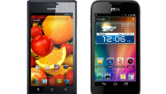 Власти США хотят запретить реализацию китайских телефонов компаний Huawei иZTE
