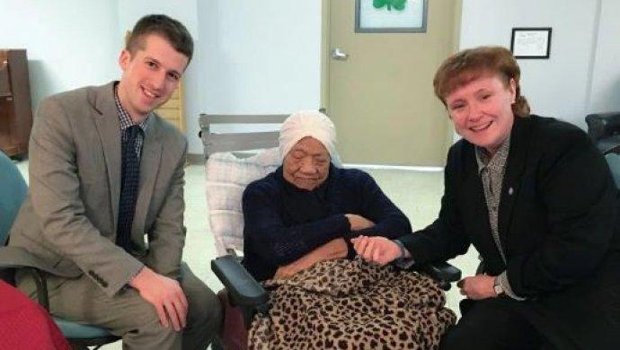 ВСША проинформировали о смерти собственной самой старой женщины— Она была необыкновенной
