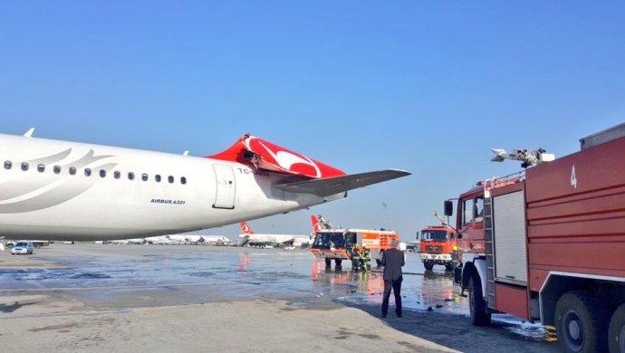 Южнокорейский итурецкий самолеты столкнулись ваэропорту Стамбула