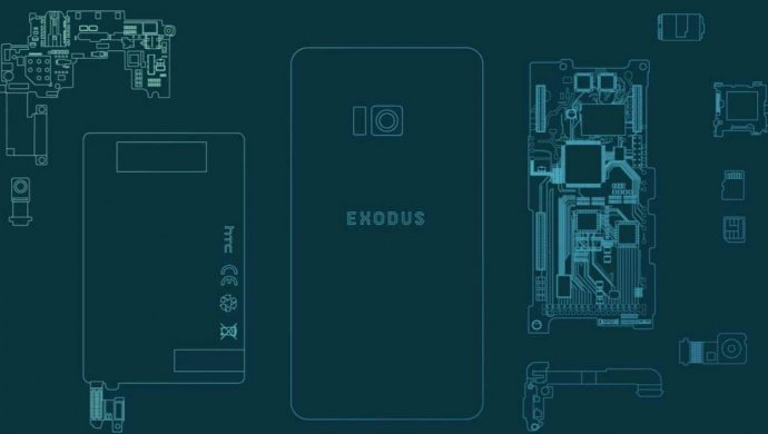 HTC Exodus будет «первым вмире нативным блокчейн-смартфоном»