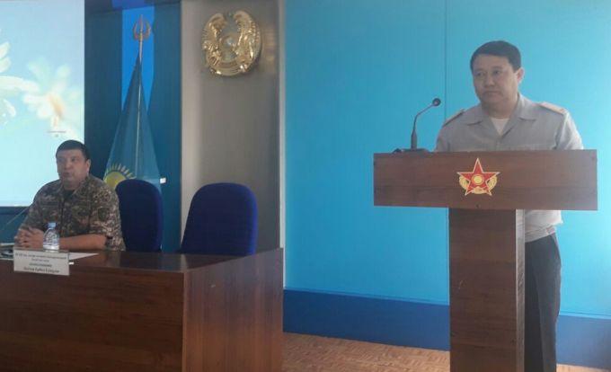 Талдыкорганские военнослужащие знают, как бороться с коррупцией