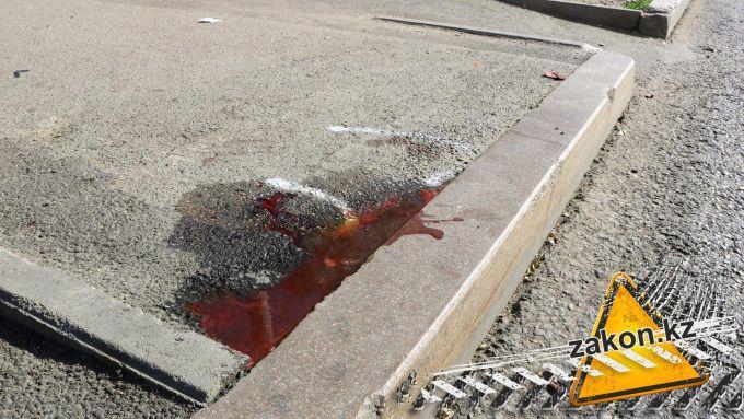 Мотоциклист погиб в результате ДТП в Алматы