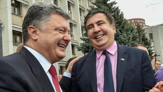 Саакашвили рассказал обофшорном следе Порошенко