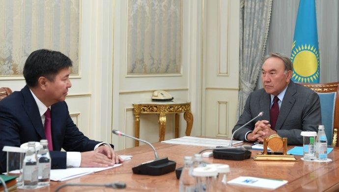 Глава государства дал ряд поручений Жакыпу Асанову