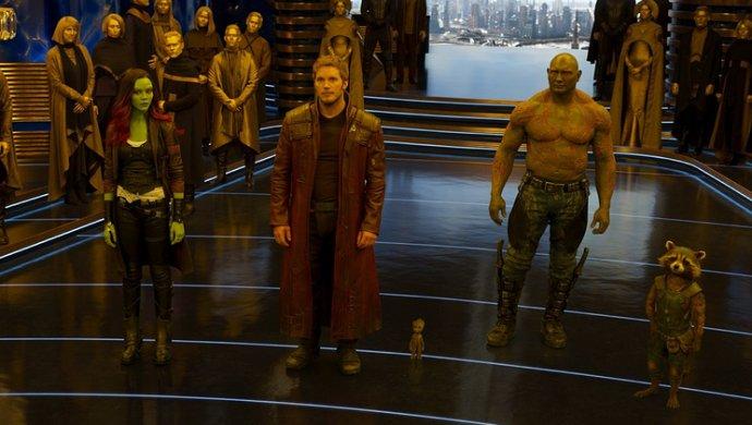 Подготовка ксъемкам 3-й части фильма 'Стражи Галактика' приостановлена на неизвестный срок