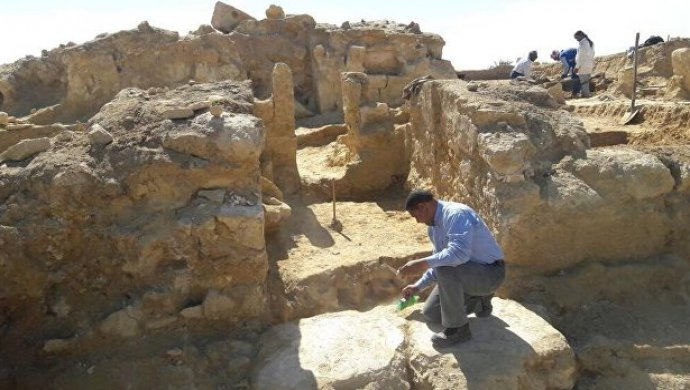 ВЕгипте обнаружили остатки деревни дофараоновой эпохи
