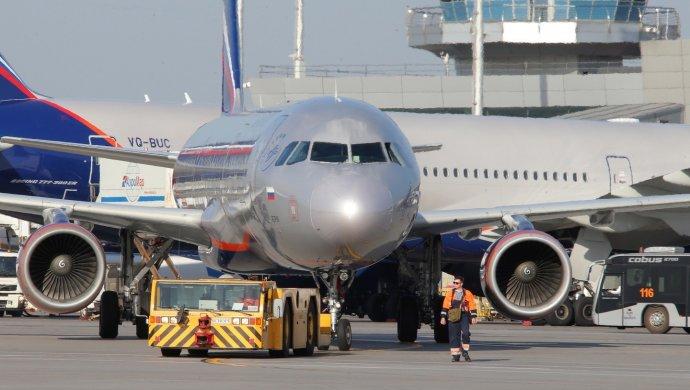 Самолет насмерть сбил мужчину в аэропорту Шереметьево