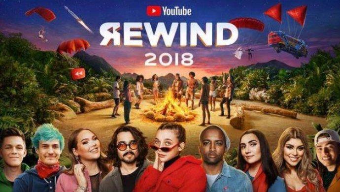 Rewind 2018 стало самым непопулярным видео YouTube