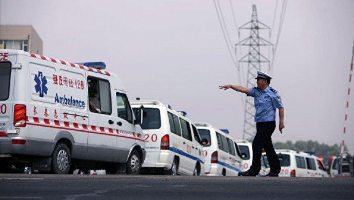 Обрушение нашахте в КНР , десятки погибших