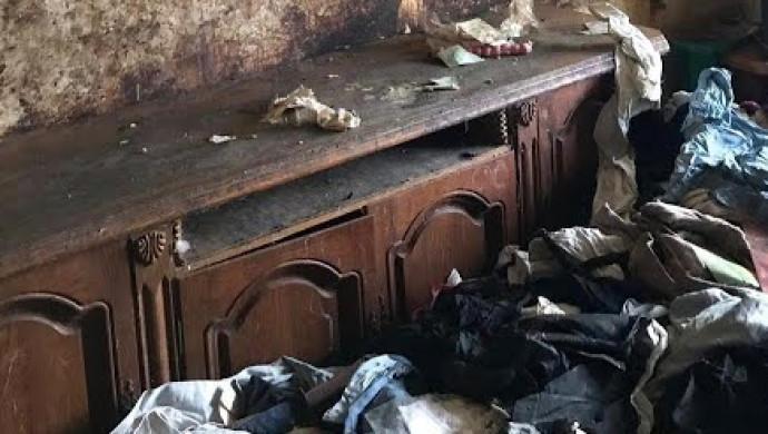 Размещено видео осмотра квартиры брошенной в столице девушки