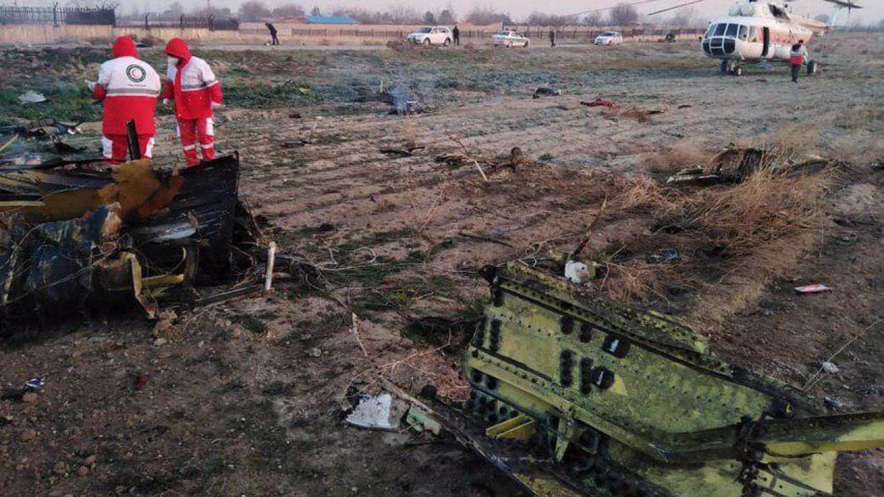 ВИран вылетят украинские специалисты  для расследования катастрофы вТегеране