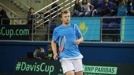 Сборная Казахстана вышла в четвертьфинал «Кубка Дэвиса 2014»