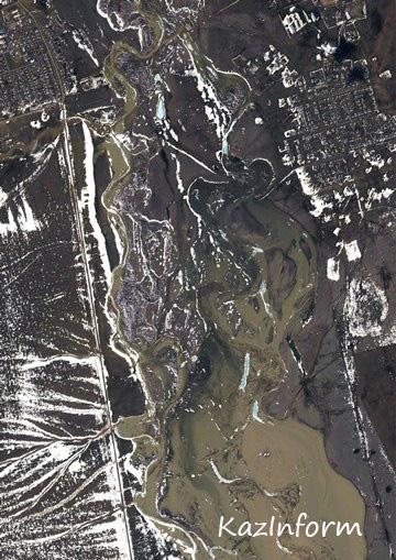 юрта фото на космическом снимке даче писательском