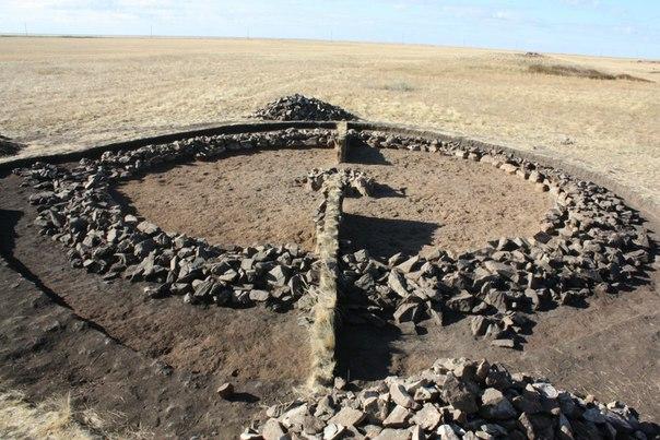 можно древние курганы в казахстане схемы картинки фото конце