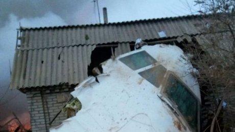 Крушение грузового самолета Boeing под Бишкеком
